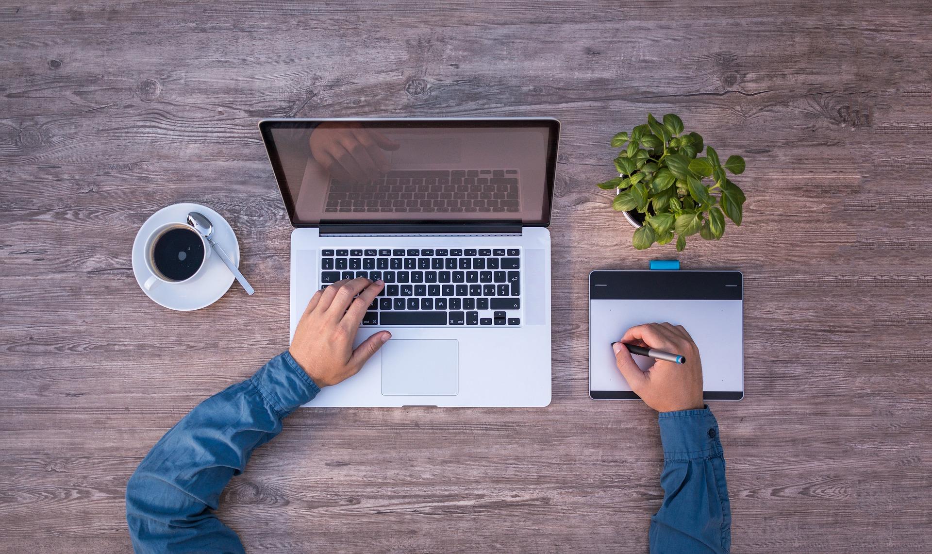 Laptop Webdesign